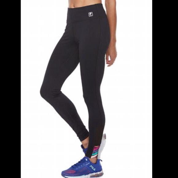 c962522cd3dc2 Fila Pants   Sport Workout Legging Mid Rise Tru Dry   Poshmark